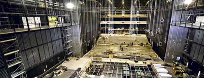 El postergado Teatro Regional de Concepción ya toma forma