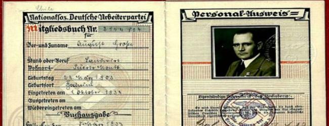 Archivo Nacional saca a la luz documentos inéditos del espionaje nazi en Chile